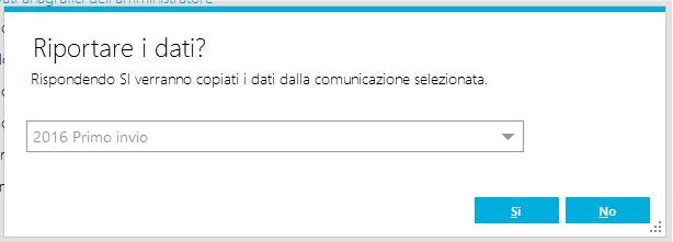 riporto comunicazione